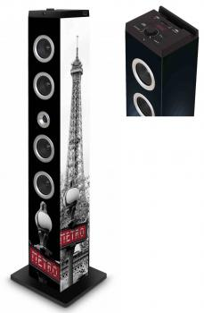 Sound Tower TW7 Paris Metro Multimedia Turm