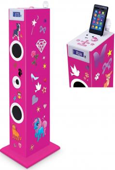Sound Tower TW5 pink 180 Sticker