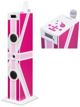 Sound Tower TW5 Union Jack pink