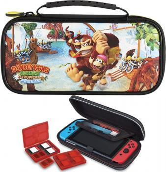 Nintendo SWITCH DONKEY KONG Game Travel Case NNS52A Country Tropical Freeze