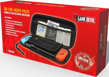 Game Devil On The Move Pack rot Tasche + Zubehör