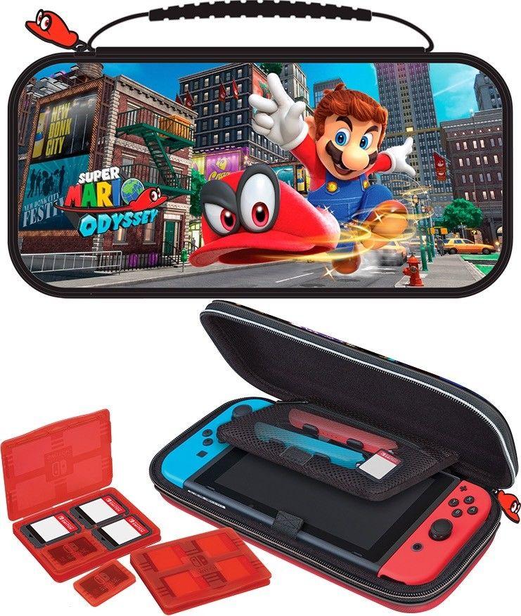 Nintendo Switch Mario Odyssey Game Travel Case Nns58 Super Mario